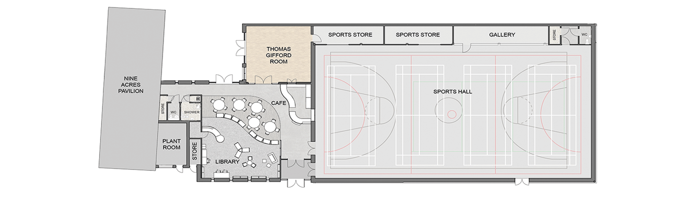 Plan of centre